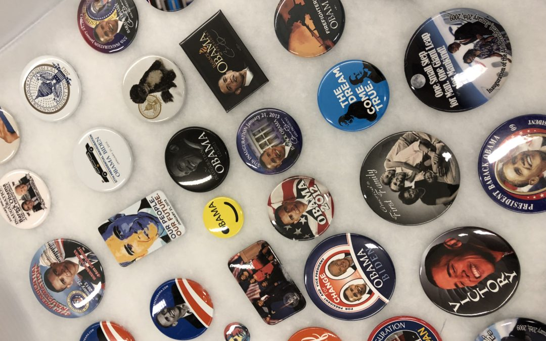 Button Donation to the Lewis Focuses on Pop Culture, Politics and More